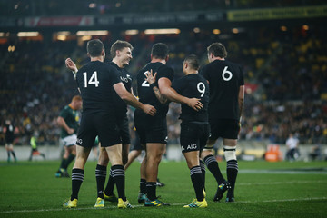 Aaron Smith New Zealand vs. South Africa - The Rugby Championship