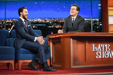 """Aaron Taylor CBS's """"The Late Show with Stephen Colbert"""" - Season Two"""