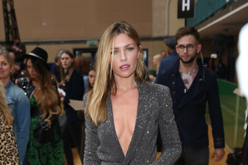 Abbey Clancy Front Row & Arrivals - Day 2 - LFW September 2016