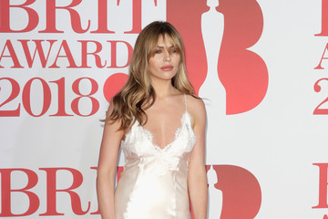 Abbey Clancy The BRIT Awards 2018 - Red Carpet Arrivals