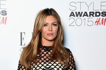Abbey Clancy Elle Style Awards 2015 - Inside Arrivals