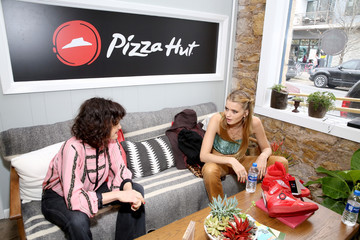 Abbey Lee Kershaw Pizza Hut Lounge At The 2018 SXSW Film Festival