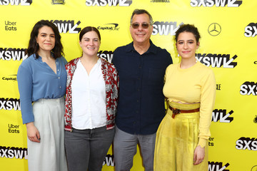 Abbi Jacobson Sarah Babineau Comedy Central's 'Broad City' Series Finale Screening At SXSW In Austin, TX