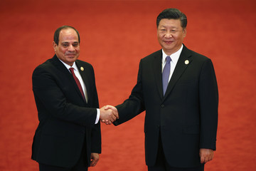 Abdel Fattah el-SiSi 2018 Beijing Summit Of The Forum On China-Africa Cooperation - Welcoming Ceremony