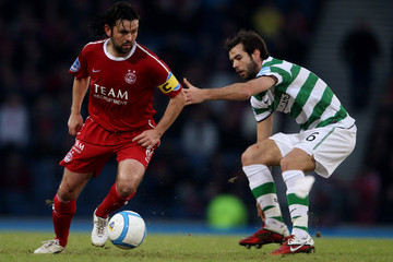 Paul Hartley Aberdeen v Celtic - Co-operative Insurance Cup Semi Final