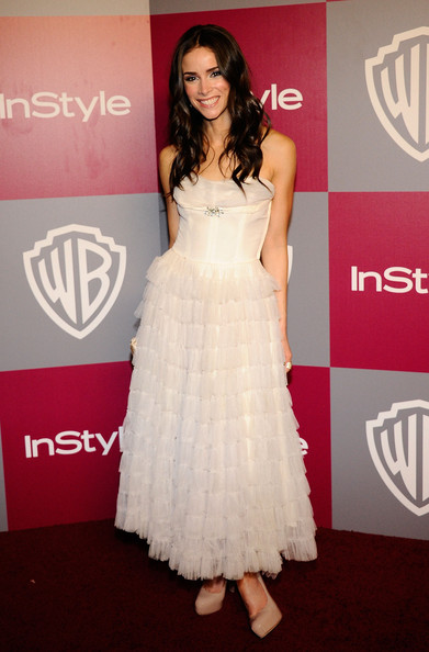 Abigail Spencer Actress Abigail Spencer arrives at the 2011 InStyle And Warner Bros. 68th Annual Golden Globe Awards post-party held at The Beverly Hilton hotel on January 16, 2011 in Beverly Hills, California.