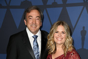 (L-R) Peter Del Vecho and Jennifer Lee attend the Academy Of Motion Picture Arts And Sciences' 11th Annual Governors Awards at The Ray Dolby Ballroom at Hollywood & Highland Center on October 27, 2019 in Hollywood, California.