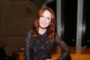 """Actress Julianne Moore attends The Academy of Motion Picture Arts and Sciences """"2019 New Members Party"""" at the Top of the Standard in New York on October 1, 2019 in New York City."""