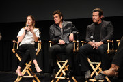 Emily Blunt, Benicio Del Toro and Josh Brolin attend the Official Academy screening of SICARIO hosted by the Academy of Motion Picture Arts and Sciences at the New York Institute of Technology on September 16, 2015 in New York City.