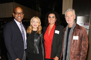 Patrick Harrison, Patricia Clarkson, Lorenza Munoz and Stephen Lang attend The Academy Of Motion Picture Arts And Sciences New Member Reception In New York at Lincoln Ristorante on October 5, 2015 in New York City.