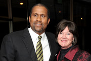 "Tavis Smiley (L) Mary Badham (R) attend The Academy Of Motion Picture Arts And Sciences Presents The 50th Anniversary Screening Of ""To Kill A Mockingbird"" at AMPAS Samuel Goldwyn Theater on April 11, 2012 in Beverly Hills, California."