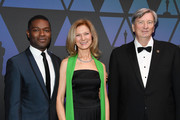 David Oyelowo, Dawn Hudson and John Bailey attend The Academy of Motion Picture Arts and Sciences' Scientific and Technical Awards Ceremony on February 09, 2019 in Beverly Hills, California.