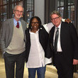 Kerry Brougher and Whoopi Goldberg