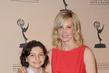 """Monica Potter Max Burkholder The Academy Of Television Arts & Sciences """"4th Annual Television Academy Honors"""" - Arrivals"""