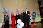 Marc Cherry, Nancy Dussault, Anne Jeffreys, June Lockhart, Millicent Martin, Charlotte Rae, Cathy Rigby and Marissa Jaret Winokur attend the the Actors Fund's 17th annual Tony Awards viewing party held at Taglyan Cultural Complex on June 9, 2013 in Hollywood, California.