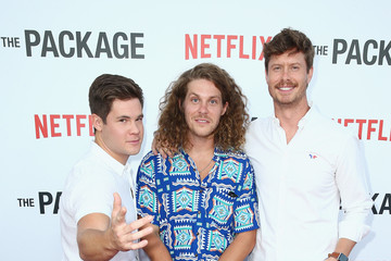 Adam DeVine Anders Holm Los Angeles Special Screening And After Party For The Netflix Film 'The Package'