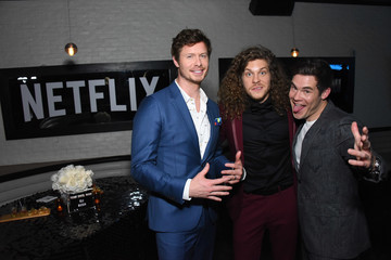 Adam DeVine Anders Holm Premiere Of Netflix's 'Game Over, Man!' - After Party