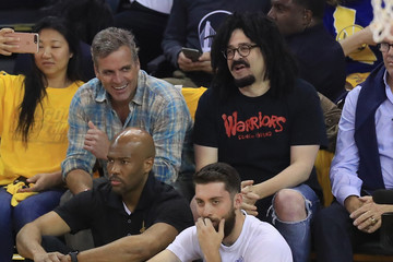 Adam Duritz 2017 NBA Finals - Game Five