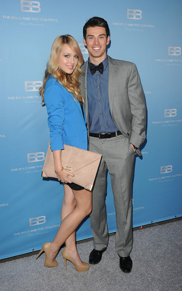 """25th Silver Anniversary Party For CBS' """"The Bold And The Beautiful"""" - Silver Carpet Arrivals"""