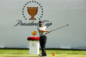 Adam Hadwin The Presidents Cup - Round Two