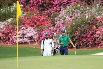Adam Hadwin The Masters - Round Two