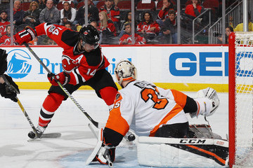 Adam Henrique Philadelphia Flyers v New Jersey Devils