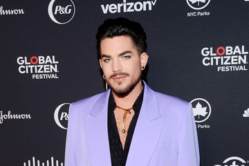 Adam Lambert 2019 Global Citizen Festival: Power The Movement – Red Carpet And Backstage