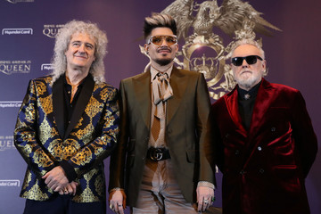 Adam Lambert Queen Holds Press Conference In Seoul