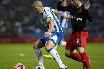 Adam LeFondre Brighton and Hove Albion v Reading - FA Cup Third Round