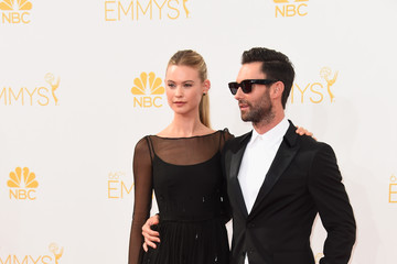 Adam Levine Arrivals at the 66th Annual Primetime Emmy Awards — Part 2