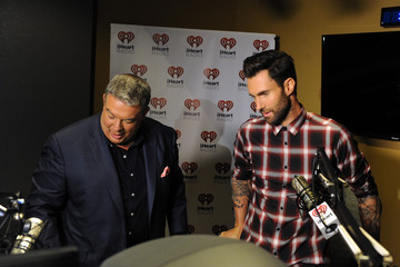 Adam Levine Elvis Duran Hosts iHeartRadio Album Release Party