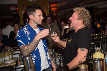 Adam Levine Adam Levine and Sammy Hagar Launch Santo Mezquila