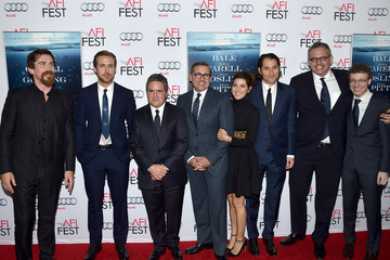 Adam McKay Nicholas Britell Celebs Attend the Closing Night Gala Premiere of Paramount Pictures' 'The Big Short' - Red Carpet