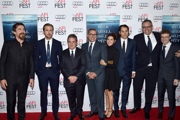 Celebs Attend the Closing Night Gala Premiere of Paramount Pictures' 'The Big Short' - Red Carpet [the big short,event,red carpet,premiere,carpet,suit,white-collar worker,team,celebs,adam mckay,jeremy kleiner,nicholas britell,actors,actors,paramount pictures,red carpet,closing night gala premiere]