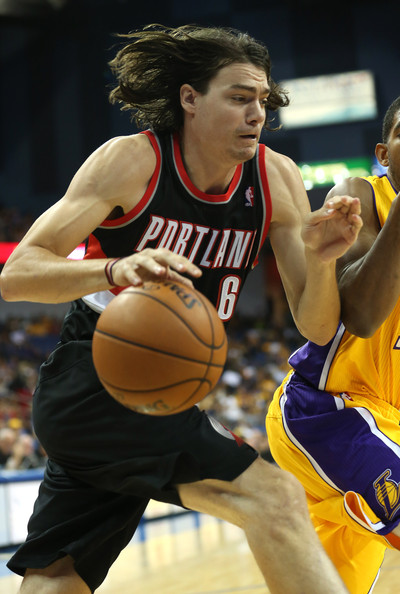 36cd3b8f4 Adam Morrison Photos - 8 of 28. Portland Trail Blazers v Los Angeles Lakers