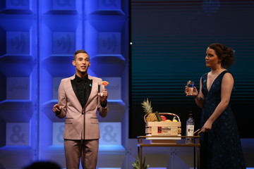 Adam Rippon Ketel One Family-Made Vodka, a longstanding ally of the LGBTQ community, stands as a proud partner of GLAAD for the 29th Annual GLAAD Media Awards Los Angeles