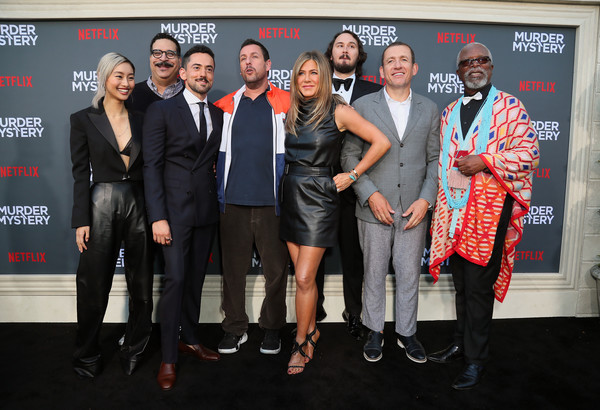 L.A. Premiere Of Netflix's 'Murder Mystery' - Red Carpet