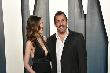 Adam Sandler 2020 Vanity Fair Oscar Party Hosted By Radhika Jones - Arrivals