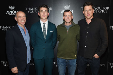 Adam Schumann The Cinema Society Host a Screening of DreamWorks and Universal Pictures' 'Thank You for Your Service'