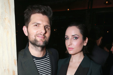 Adam Scott Hollywood Foreign Press Association and InStyle Celebrate the 75th Anniversary of the Golden Globe Awards - Inside