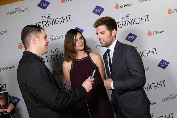 Celebrities Attend 'The Overnight' New York Premiere