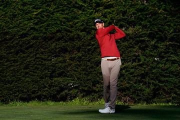Adam Scott AT&T Pebble Beach Pro-Am - Round One
