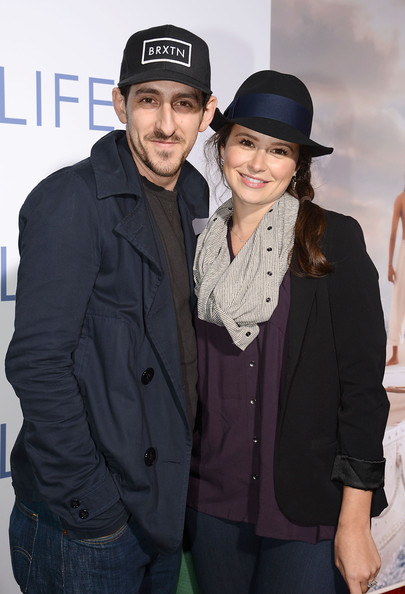Adam Shapiro with Wife