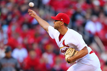 Adam Wainwright Arizona Diamondbacks  v St Louis Cardinals
