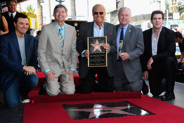Seth MacFarlane Ralph Garman Adam West Honored On The Hollywood Walk Of Fame