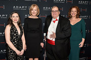 (L-R) Marissa Shorenstein, Judy Woodruff, Ed Matthews, and Amy Wright attend the Adapt Leadership Awards Gala 2018 at Cipriani 42nd Street on March 8, 2018 in New York City.
