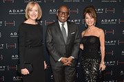 (L-R) Judy Woodruff, Al Roker, and Susan Lucci attend the Adapt Leadership Awards Gala 2018 at Cipriani 42nd Street on March 8, 2018 in New York City.