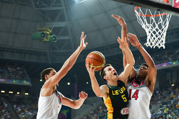Adas Juskevicius 2014 FIBA Basketball World Cup - Day Eleven
