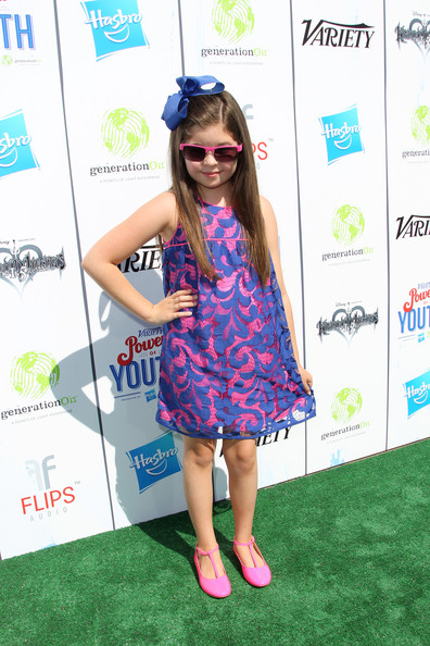 Addison Riecke - Variety's Power Of Youth Presented By Hasbro And GenerationOn - Flips Audio Arrivals