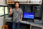 Adel Tawil Visits the John Lennon Education Bus
